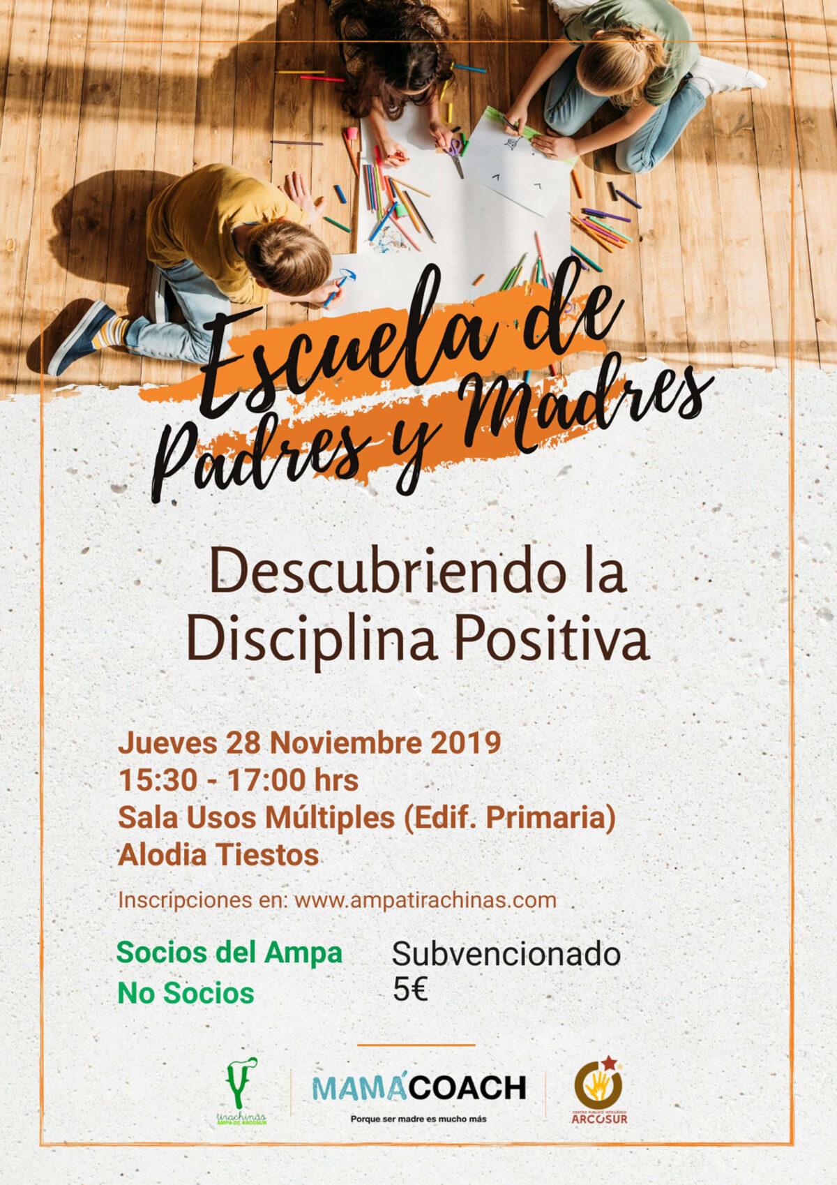 ESCUELA PADRES DISCIPLINA POSITIVA